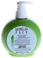 Растительный бальзам с ментолом и маслом ромашки для поврежденных волос Dikson