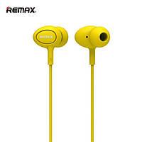 Наушники REMAX headphone RM-515 yellow