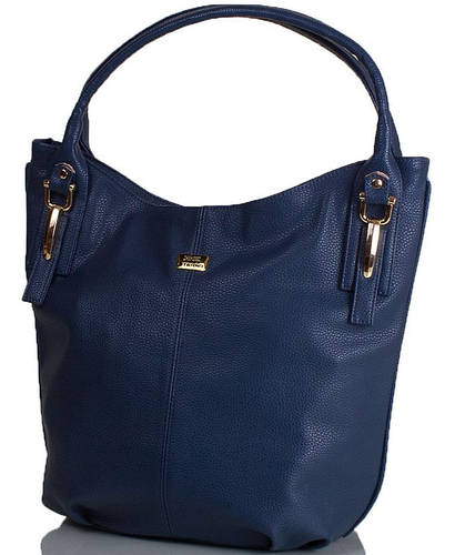 Лаконичная женская сумка из качественной искусственной кожи ETERNO ETMS35266-6 синий
