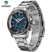 Мужские часы Weide WH903 Silver