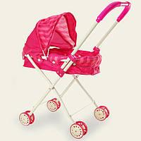 Детская коляска люлька с капюшоном для кукол (7Toys 9309L)