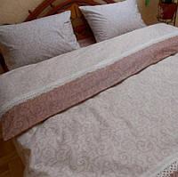 Комплект постельного белья двуспальный Бязь. Хлопок 100% (арт.Вензеля1)