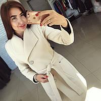 """Женское стильное пальто """"Модлен"""" на пуговицах (4 цвета)"""