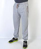 Спортивные мужские брюки трикотажные - манжет - Артикул 41-325