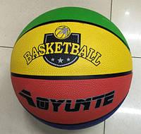 Мяч баскетбольный BT-BTB-0003 резиновый, размер 7 500г ш.к./50/(BT-BTB-0003)