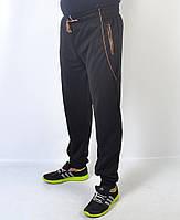Спортивные мужские брюки трикотажные - манжет - Артикул 41-326