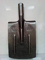 Лопата из рельсовой стали МАТиК  штыковая прямоугольная (ЛШП)