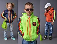 Куртка детская демисезонная «Adidas» (р.98-128)