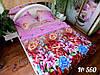 Комплект постельного белья (евро-размер) - № - 560