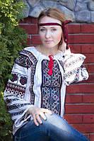 Модная вышитая блуза  (О.Л.С)-лен