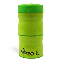Термос для еды 2отделения THIS & THAT Green - ZOLI