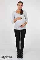 Узкие брюки - джеггинсы для беременных Naomi черные