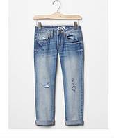 Джинсы бойфренды для девочки оригинальные Gap размер 8 лет 1969 destructed boy fit jeans