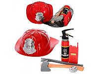 Игровой набор пожарного ( огнетушитель брызгает водой)