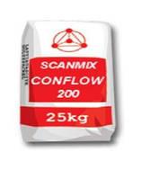 Раствор  для устройства стяжек пола внутри зданий Сканмикс Конфлов 200 / Scanmix CONFLOW 200 (уп. 25 кг)