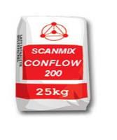 Раствор  для устройства стяжек пола внутри зданий Сканмикс Конфлов 300 / Scanmix CONFLOW 300 (уп. 25 кг)