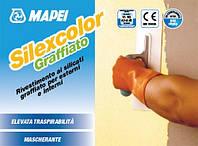 """Силикатная штукатурка Mapei Silexcolor Graffiato 1.2мм / Силексколор Графиато """"Короед"""" База Р (20кг)"""