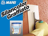 "Силиконовая штукатурка ""короед"" Silancolor Graffiato / Силанколор Графиато 1.8 мм, База Р (уп.20 кг)"