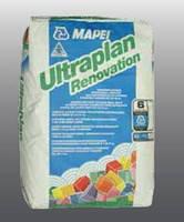 Состав  быстротв. арм.синт. волокном для выравн. пола Ультраплан Реновейшн / Ultrapian Renovation (уп. 23 кг)