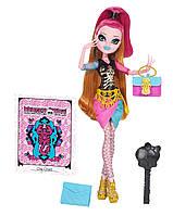 Кукла Монстер Хай Джиджи Грант серия Новый Скарместр Monster High