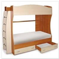 Симба 1 Кровать детская 2-х ярусная