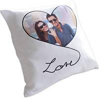 Подушка с фото — LOVE