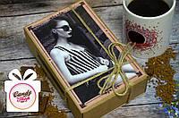 Шоколадный набор с фото КРАФТ 50 шоколадок