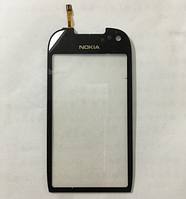Оригинальный тачскрин / сенсор (сенсорное стекло) для Nokia C7 C7-00 (черный цвет)