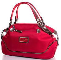 Изящная женская сумка с двумя ручками, ткань Ted Lapidus FRHNY4023H15-1 красный
