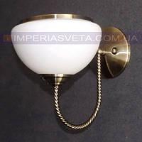 Классическое бра, настенный светильник IMPERIA одноламповое LUX-445601
