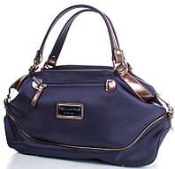 Стильная женская сумка с двумя ручками, ткань Ted Lapidus FRHNY4023H15-6 синий