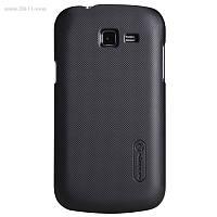 Чехол Nillkin Super Frosted Shield для Samsung Galaxy Trend Lite (s7390) black + защитная плёнка