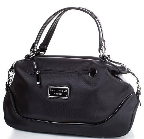 Вместительная женская сумка на каждый день, ткань Ted Lapidus FRHNY4023H15-2 черный