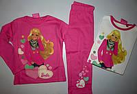 Пижама для девочек Barbie  , 2-3-4-5-6 лет.