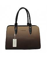 Элегантная женская сумка, black/d.camel