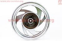 Диск колесный задний литой под шину 130/90-15 на мотоцикл  Defiant - Polk