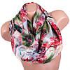 Легкий женский шелковый шарф, двусторонний 170 на 46 см Eterno ES2707-1-9 разноцвет