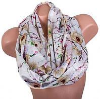 Элегантный женский шелковый шарф, двусторонний 170 на 47 см Eterno ES2707-1-1 разноцвет