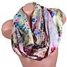 Выразительный женский шелковый шарф, двусторонний 170 на 47 см Eterno ES2707-1-2 разноцвет