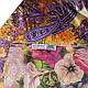 Красочный женский шелковый шарф, двусторонний 172 на 47 см Eterno ES2707-1-3 разноцвет, фото 4