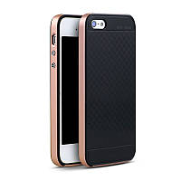 Чехол бампер Ipaky для iPhone 5 / 5S / SE розовый