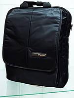Мужская текстильная вертикальная сумка на плечо SKY-BOW 5723