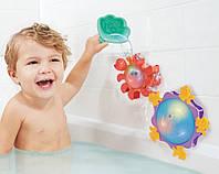Игровой набор - МЕРЦАЮЩИЙ ОКЕАН (2 водяные мельницы, чашечка, для игры в ванной)