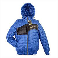 Куртка Трансформер Вставка Подросто (4 цв), демисезонная куртка подросток, детская верхняя одежда, дропшиппинг