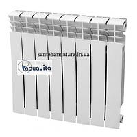 Радиатор отопления биметаллический  AQUAVITA 350*80*80 new 20 бар