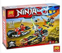"""Конструктор Lele Ninja 79228  """"Погоня на мотоциклах"""" 249 дет"""