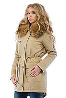 Куртка парка женская на зиму