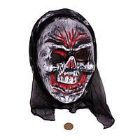 Страшная маска на Хеллоуин «Злой череп»