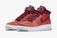 Кроссовки Nike Air Force 1 Ultra Flyknit Red 2