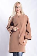 Женское Пальто П-016 Бежевый